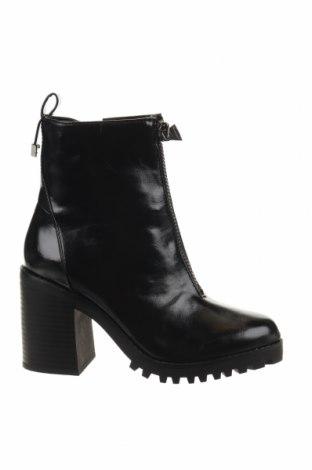 Γυναικεία μποτάκια Reserved, Μέγεθος 36, Χρώμα Μαύρο, Δερματίνη, Τιμή 24,90€