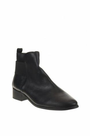 Дамски боти Reserved, Размер 36, Цвят Черен, Еко кожа, Цена 22,25лв.