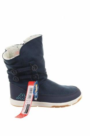 Γυναικείες μπότες Kappa, Μέγεθος 29, Χρώμα Μπλέ, Κλωστοϋφαντουργικά προϊόντα, δερματίνη, Τιμή 27,53€