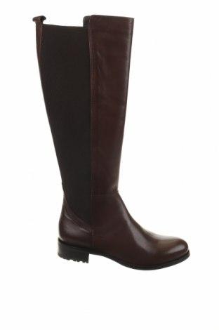 Γυναικείες μπότες Otto Kern, Μέγεθος 37, Χρώμα Καφέ, Γνήσιο δέρμα, κλωστοϋφαντουργικά προϊόντα, Τιμή 59,83€