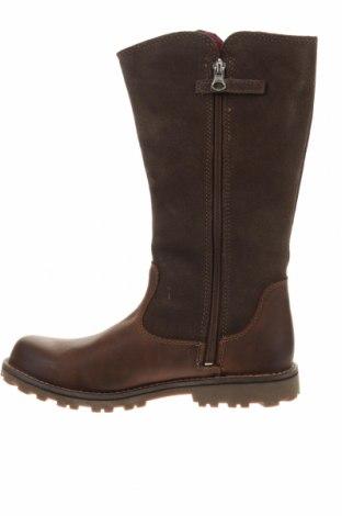 Παπούτσια Timberland, Μέγεθος 35, Χρώμα Καφέ, Γνήσιο δέρμα, φυσικό σουέτ, Τιμή 55,36€