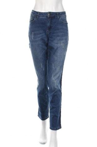 Дамски дънки Alba Moda, Размер XL, Цвят Син, 98% памук, 2% еластан, Цена 45,57лв.