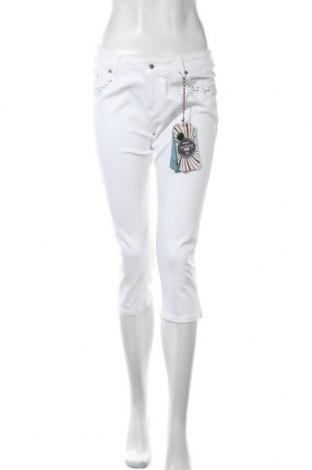 Γυναικείο Τζίν Galvanni, Μέγεθος M, Χρώμα Λευκό, 98% βαμβάκι, 2% ελαστάνη, Τιμή 30,60€