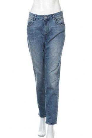 Γυναικείο Τζίν Kiomi, Μέγεθος L, Χρώμα Μπλέ, 99% βαμβάκι, 1% ελαστάνη, Τιμή 14,29€