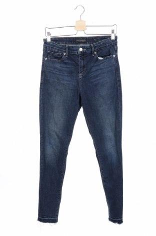 Дамски дънки Lucky Brand, Размер S, Цвят Син, 85% памук, 13% полиестер, 2% еластан, Цена 19,85лв.