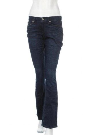 Дамски дънки Lucky Brand, Размер M, Цвят Син, 78% памук, 20% полиестер, 2% еластан, Цена 25,52лв.