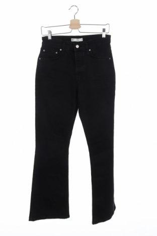 Дамски дънки Perfect Jeans By Gina Tricot, Размер M, Цвят Черен, 98% памук, 2% еластан, Цена 48,83лв.