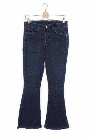 Дамски дънки Rinascimento, Размер M, Цвят Син, 74% памук, 24% полиестер, 2% еластан, Цена 22,12лв.