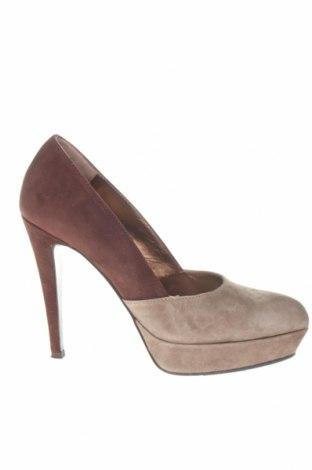 Γυναικεία παπούτσια Coccinelle, Μέγεθος 36, Χρώμα  Μπέζ, Φυσικό σουέτ, Τιμή 61,11€