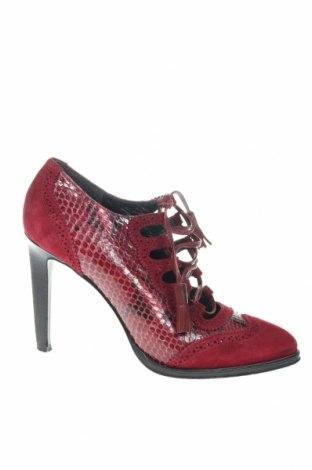 Γυναικεία παπούτσια Emilio Pucci, Μέγεθος 37, Χρώμα Κόκκινο, Γνήσιο δέρμα, Τιμή 92,04€