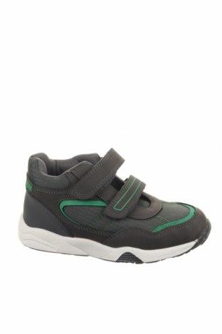 Παιδικά παπούτσια Lamino, Μέγεθος 30, Χρώμα Γκρί, Δερματίνη, κλωστοϋφαντουργικά προϊόντα, Τιμή 18,85€