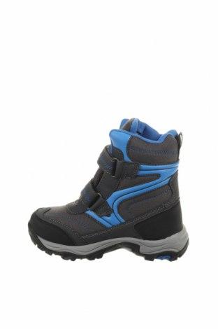 Παιδικά παπούτσια Lamino, Μέγεθος 29, Χρώμα Γκρί, Κλωστοϋφαντουργικά προϊόντα, δερματίνη, Τιμή 22,27€