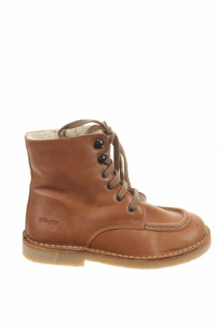 Παιδικά παπούτσια Pom Pom, Μέγεθος 30, Χρώμα Καφέ, Γνήσιο δέρμα, Τιμή 31,92€