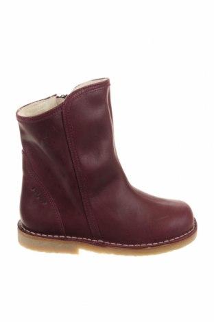 Γυναικείες μπότες Pom Pom, Μέγεθος 29, Χρώμα Βιολετί, Γνήσιο δέρμα, Τιμή 39,89€