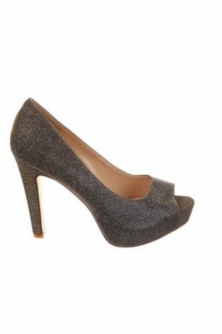Γυναικεία παπούτσια Tata, Μέγεθος 37, Χρώμα Χρυσαφί, Κλωστοϋφαντουργικά προϊόντα, Τιμή 30,54€