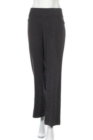 Γυναικείο παντελόνι Christopher & Banks, Μέγεθος L, Χρώμα Γκρί, 63% πολυεστέρας, 33% βισκόζη, 4% ελαστάνη, Τιμή 5,91€