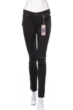 Γυναικείο παντελόνι Galvanni, Μέγεθος L, Χρώμα Μαύρο, 97% βαμβάκι, 3% ελαστάνη, Τιμή 47,24€