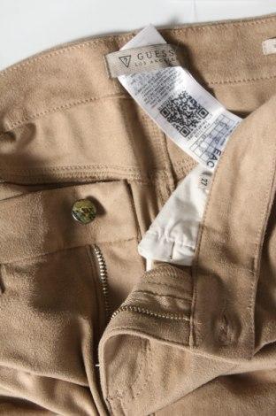 Дамски панталон Guess, Размер S, Цвят Бежов, 87% полиестер, 13% еластан, Цена 37,96лв.