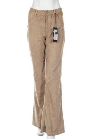 Pantaloni de femei Guess, Mărime L, Culoare Bej, 87% poliester, 13% elastan, Preț 70,82 Lei