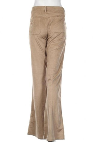 Γυναικείο παντελόνι Guess, Μέγεθος L, Χρώμα  Μπέζ, 87% πολυεστέρας, 13% ελαστάνη, Τιμή 57,60€