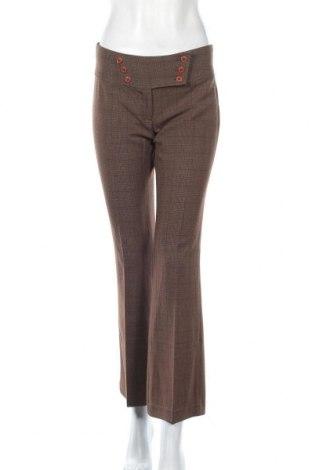 Дамски панталон Mandee, Размер S, Цвят Кафяв, 71% полиестер, 26% вискоза, 3% еластан, Цена 11,06лв.
