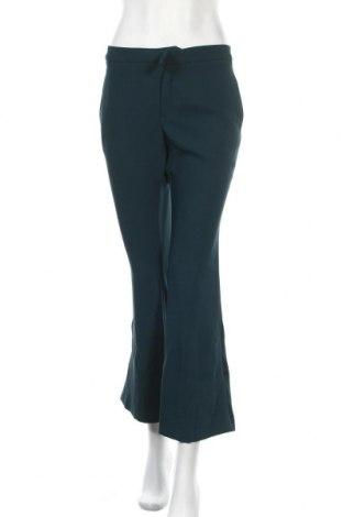 Дамски панталон Mango, Размер M, Цвят Зелен, Полиестер, Цена 23,60лв.
