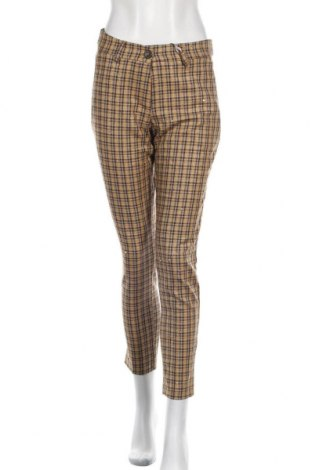 Дамски панталон Rinascimento, Размер S, Цвят Кафяв, 52% полиестер, 46% вискоза, 2% еластан, Цена 29,80лв.