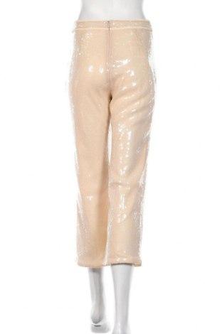 Дамски панталон Stefanel, Размер S, Цвят Бежов, Полиамид, Цена 27,51лв.