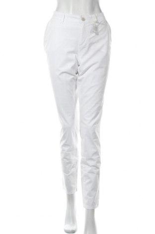 Γυναικείο παντελόνι Timezone, Μέγεθος M, Χρώμα Λευκό, 97% βαμβάκι, 3% ελαστάνη, Τιμή 11,47€