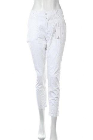 Γυναικείο παντελόνι Timezone, Μέγεθος L, Χρώμα Λευκό, 98% βαμβάκι, 2% ελαστάνη, Τιμή 15,85€