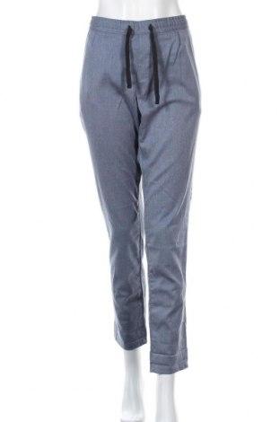Γυναικείο παντελόνι Tom Tailor, Μέγεθος L, Χρώμα Μπλέ, 63% πολυεστέρας, 33% βισκόζη, 4% ελαστάνη, Τιμή 14,68€