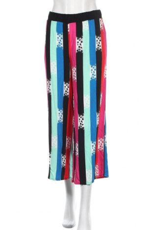 Дамски панталон Trussardi Jeans, Размер L, Цвят Многоцветен, Вискоза, Цена 126,75лв.