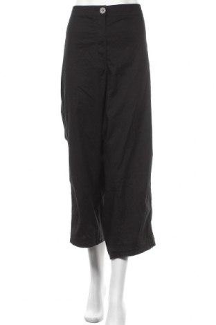 Γυναικείο παντελόνι Ulla Popken, Μέγεθος 5XL, Χρώμα Μαύρο, 98% βαμβάκι, 2% ελαστάνη, Τιμή 18,12€
