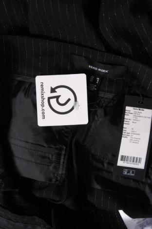 Дамски панталон Vero Moda, Размер S, Цвят Черен, 70% полиестер, 28% вискоза, 2% еластан, Цена 15,87лв.