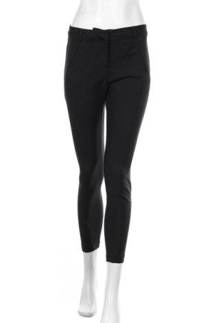 Γυναικείο παντελόνι Vero Moda, Μέγεθος XS, Χρώμα Μαύρο, 49% βαμβάκι, 48% πολυαμίδη, 3% ελαστάνη, Τιμή 12,73€