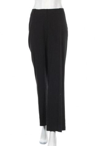 Дамски панталон Worthington, Размер L, Цвят Черен, 62% полиестер, 32% вискоза, 6% еластан, Цена 7,09лв.