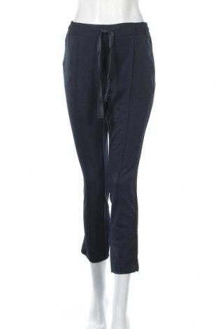Дамски панталон Yaya, Размер S, Цвят Син, 95% полиестер, 5% вискоза, Цена 20,16лв.