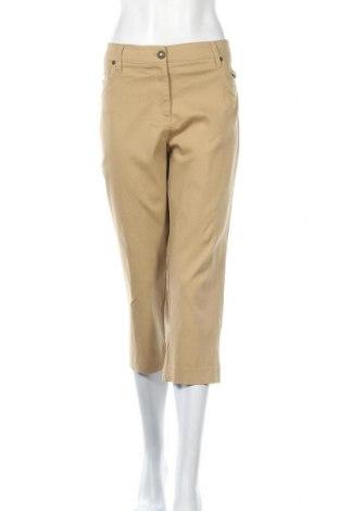 Γυναικείο παντελόνι Zac & Rachel, Μέγεθος XL, Χρώμα  Μπέζ, 77% πολυαμίδη, 20% βισκόζη, 3% ελαστάνη, Τιμή 13,64€