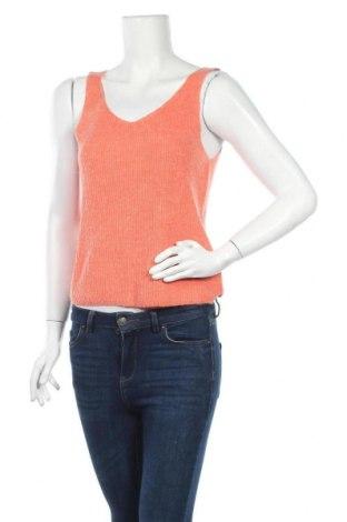 Γυναικείο αμάνικο μπλουζάκι Best Connections, Μέγεθος S, Χρώμα Πορτοκαλί, 80% πολυακρυλικό, 20% πολυαμίδη, Τιμή 4,32€