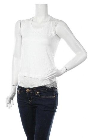 Γυναικείο αμάνικο μπλουζάκι Molly Bracken, Μέγεθος XS, Χρώμα Λευκό, 95% βισκόζη, 5% ελαστάνη, Τιμή 13,92€