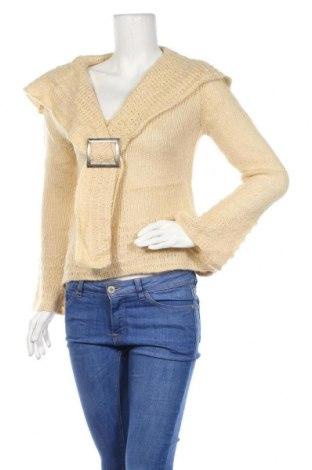 Дамски пуловер, Размер S, Цвят Жълт, Цена 5,78лв.