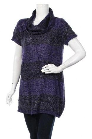 Γυναικείο πουλόβερ, Μέγεθος XL, Χρώμα Βιολετί, 96%ακρυλικό, 4% μεταλλικά νήματα, Τιμή 5,91€