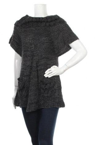 Дамски пуловер, Размер L, Цвят Черен, 65% акрил, 35% вълна, Цена 30,45лв.