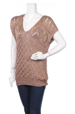 Дамски пуловер, Размер M, Цвят Кафяв, Цена 5,78лв.