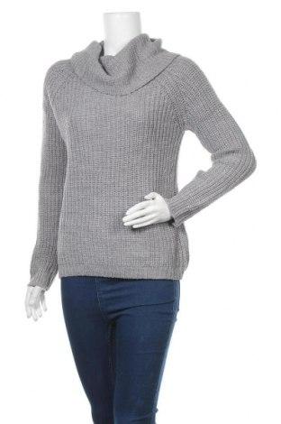 Дамски пуловер, Размер S, Цвят Сив, Акрил, Цена 27,30лв.