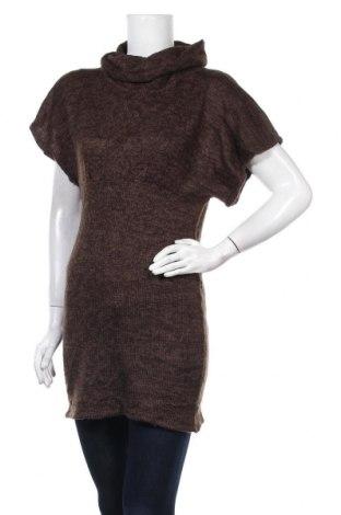 Дамски пуловер, Размер S, Цвят Кафяв, Акрил, Цена 7,35лв.