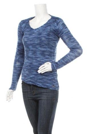 Дамски пуловер, Размер M, Цвят Син, Акрил, Цена 7,56лв.