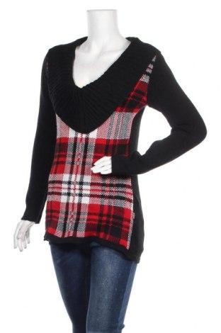 Дамски пуловер, Размер M, Цвят Многоцветен, 95% акрил, 5% еластан, Цена 27,30лв.
