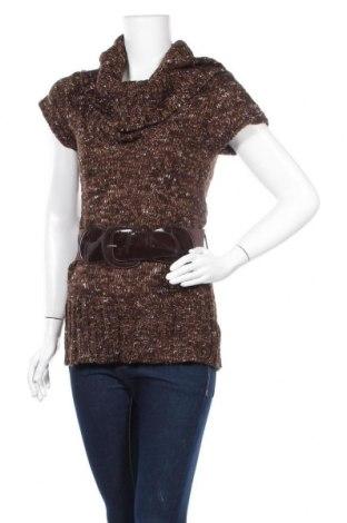 Дамски пуловер, Размер M, Цвят Многоцветен, 77% акрил, 15% памук, 8% полиестер, Цена 5,55лв.