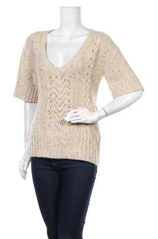 Дамски пуловер A.N.A., Размер M, Цвят Бежов, 35% акрил, 35% полиамид, 23% вълна, 7% ангора, Цена 7,35лв.